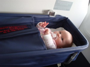 Anna Air Astana Flight Almaty Astana Bassinet Bassinette