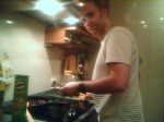 DanD Cooking In Our Kitchen