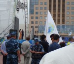 Astana Day Celebrations Uniformed Security At Award Ceremony