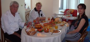 A Light Boxing Day Meal With Ira's Parents