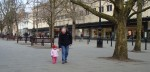 Anna And Grandad On The Promenade In Cheltenham