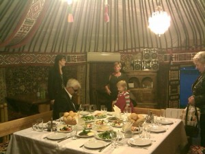 Just Arrived, Inside The Yurt
