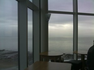 Another Shot Of The View From Swansea's Grape And Vine Bar/Restaurant