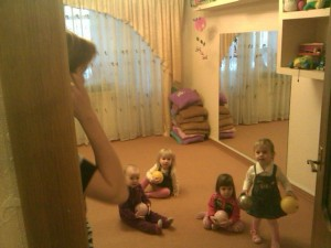Anna With Some Of Her Playgroup Friends