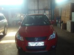 Front Of Our Suzuki SX4