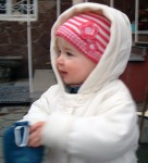 Anna Dressed For Winter In Chubary