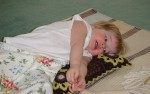 Sleeping Lions Is A Short Game With Two Year Olds!
