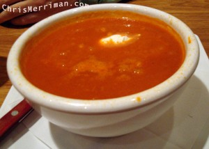 Burger Bar's Tomato Soup
