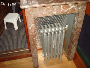 Warm Radiator & Step For Bunk