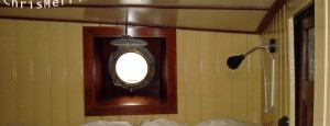 2nd Bedroom's 1st Bed With Light & Porthole