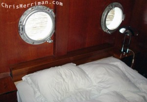 Main Bedroom's Portholes