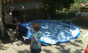 A Paddling Pool For Very Short People?