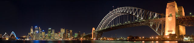 Someone Else's (Much Better) Photo Of Sydney Harbour Bridge - WikiMedia