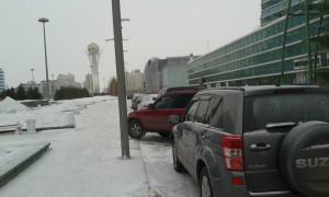 Kazakh Parking