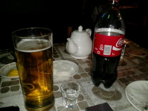 Cafe Real Astana Beer Vodka Coke Tea